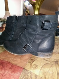 As z10 Suede leather biker babe half boot.  Centralia, 98531