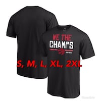 FANATICS Hometown Toronto Raptors WE THE CHAMPS T-Shirt Toronto, M1V 2Z4