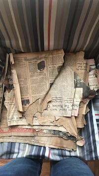 Antique Newspapers from 1939 Minneapolis Star Baraboo, 53913