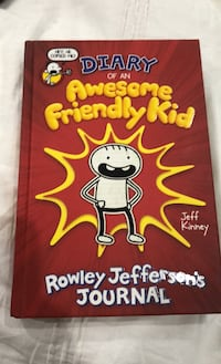 Diary of an awesome friendly kid by Jeff Kinney