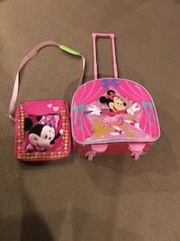 pink and purple Minnie Mouse backpack Calgary, T2T