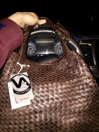 $395 down to $100!! Brand New Italian Leather Valentina Bag. Edmonton, T6J