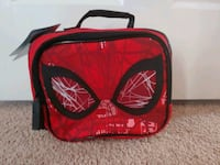 (NEW) Authentic Disney Marvel Spiderman Lunch Tote Silver Spring, 20904