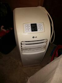 white LG portable AC unit Cooperstown, 16317