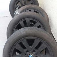 Black bmw wheel 205/55/16