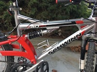 Red and black full-suspension bike South San Francisco, 94080