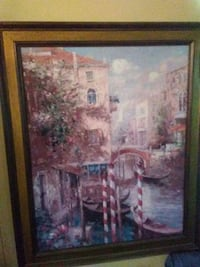 painting of Venice Canal Marion, 78124