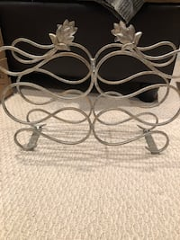 Metal Counter top wine rack.