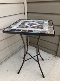Cast iron coffee table