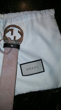GG supreme men's belt with bag fits up to size 38