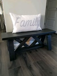 Bench in ebony color stain Airdrie, T4A 0E0