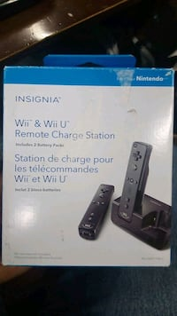 WII remote charging station with battery Mississauga, L4X 2S3