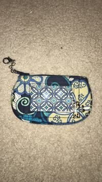 white, blue, beigeand green floral wristlet Perry Hall, 21128