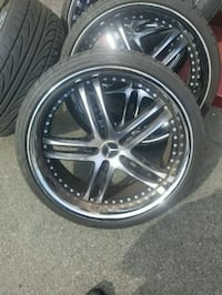22 Inch Mercedes Wheels.  Prince George's County, 20746