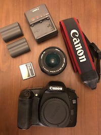 Canon 30D DSLR Camera with extras
