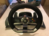 Xbox racing wheel and pedals Benton