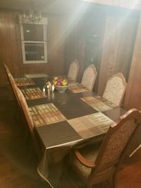 brown wooden dining table set Richmond, 23224