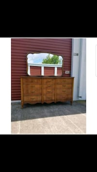 Vintage Dixie Dresser (Solid Wood) French Magnolia, 77355