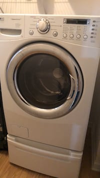 white front-load clothes washer Riverdale, 30296