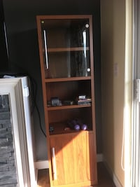 Book case with glass door  3725 km