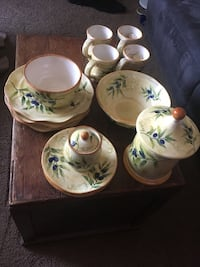 Olive Classic Collection Dish Set.