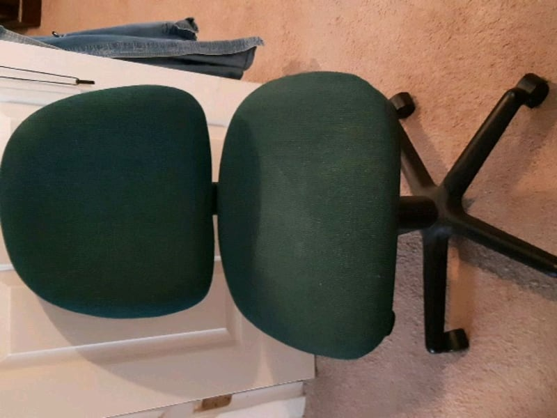 Adjustable green computer desk chair e5288975-9425-4cbc-a18a-e5cd4342920e