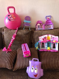 pink and purple plastic toy Ontario, 91764