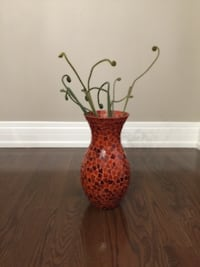 Pier One glass vase