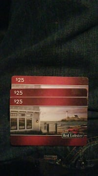 Red lobster gift cards