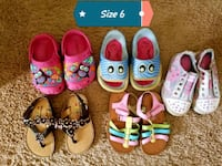 toddler's six pairs of shoes Warrior, 35180