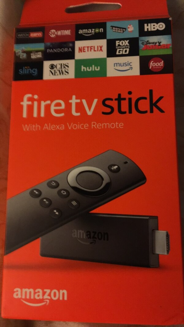 AMAZON FIRE STICK BRAND NEW INCLUDES BATTERIES