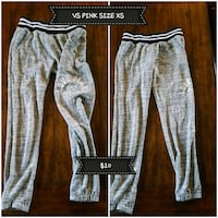 women's gray and white pants Anderson, 96007