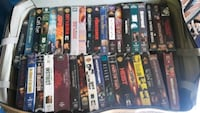 Assorted VHS tapes, 2 boxes $25 cash only obo Powder Springs, 30127