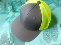 neon green and grey snapback hat .  Surrey, V3S 9X6
