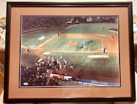 "Hank Aaron autographed print  ""715"", PSA/DNA authentic with certificate Indian Harbour Beach, 32937"