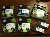 HP ink cartridges 950 & 951 Bowie, 20716