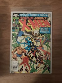 Annual X-men 5 comic Richmond Hill, L4C 8X6