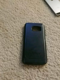 black OtterBox for Galaxy S7