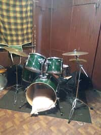 Used Just Kidz My First Metal Drum Set Box For Sale In Chicago Letgo