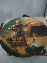 The Banjo Player, collectors plate