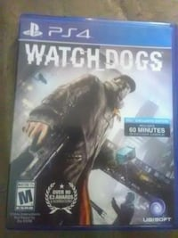 PS4 Watch Dogs case Porterville, 93257