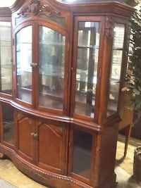 Brown China cabinet  Rockville, 20850