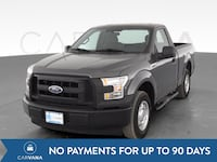 2017 Ford F150 Regular Cab pickup XL Pickup 2D 6 1/2 ft Gray <br