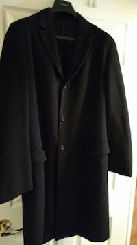 Mens Wool and Cashmere Coat by Designer Jil Sander TORONTO