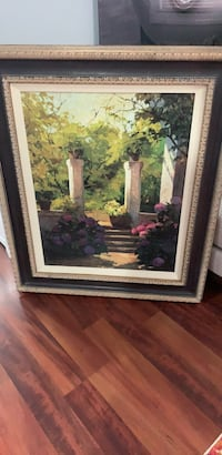 brown wooden framed painting of flowers Mount Vernon, 10550