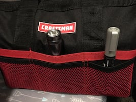 CRAFTSMAN LARGE TOOL BAG with 6 exterior pockets BRAND NEW