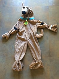 Kid's scooby doo costume. For 5, 6 years old  San Jose, 95122