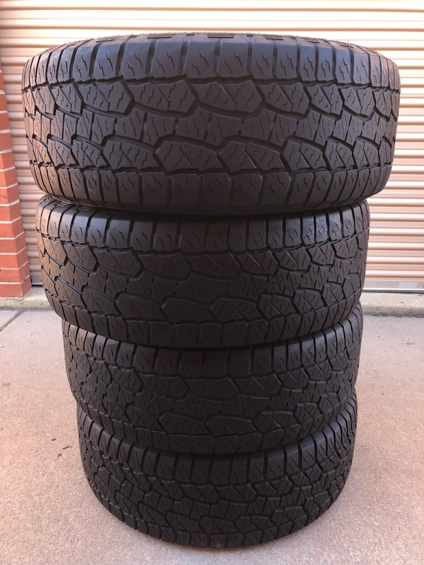 Used 275 55r20 Hankook All Terrain Tires For Sale In Lakewood Letgo