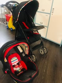 Graco Snug ride 30 lx click connect car seat & literider lx stroller - $120 Fairfax, 22030