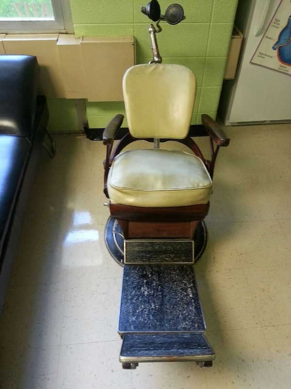 1928 Vintage Ritter dental chair - Used 1928 Vintage Ritter Dental Chair In Coolbaugh Township - Letgo